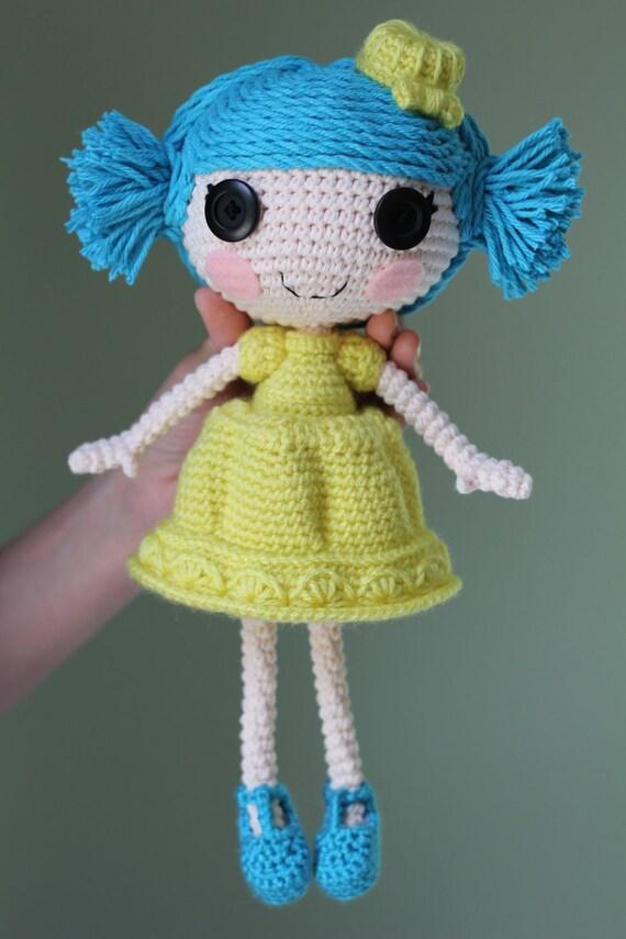 Items similar to PATTERN: Jelly Crochet Amigurumi Doll on Etsy