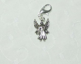 Guardian Angel Charm and Lobster Clasp