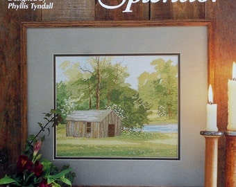Phyllis Tyndall SPRING SPLENDOR by Just Cross Stitch  - Counted Cross Stitch Pattern Chart