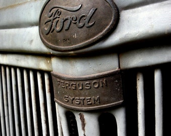 Antique Ford Tractor No.1 - Rustic - Farm Photography - 8x10 Digital Photo