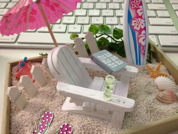 Create Your Own Beach Fairy Garden Custom Miniature