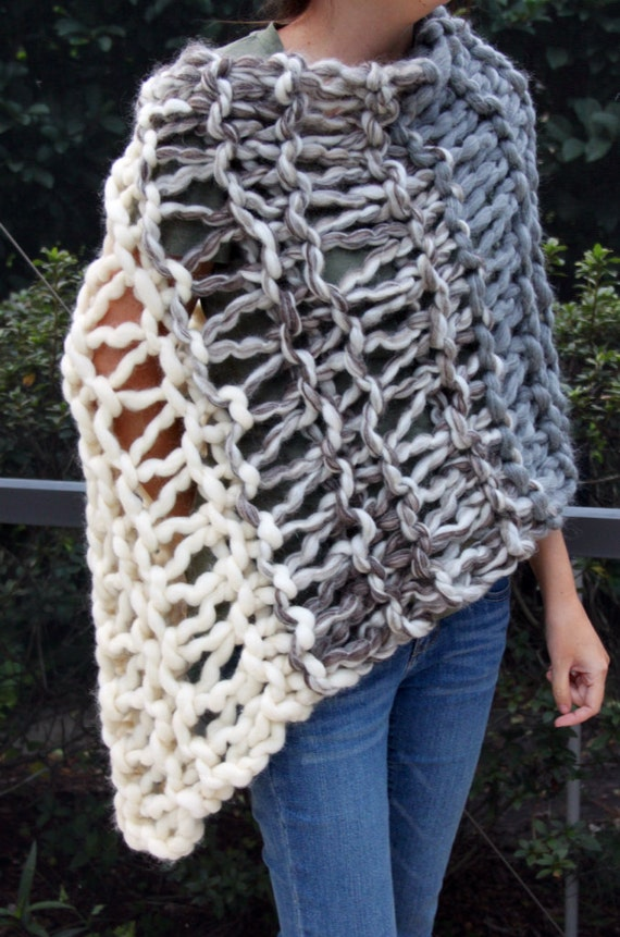 https://www.etsy.com/listing/170959410/hand-knit-bulky-shawl-poncho-in-natural
