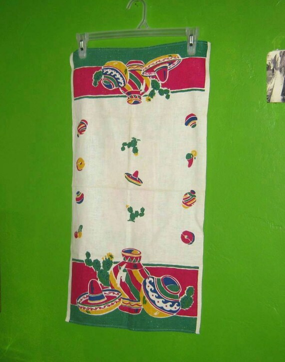 Retro wedding gifts startex mexican towel by for Classic housewarming gifts