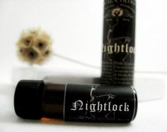Botanical Cologne Oil. Nightlock- Vetiver, Coriander, Lemon Zest & Tobacco.  Natural Cologne. Organic Essential Oils.