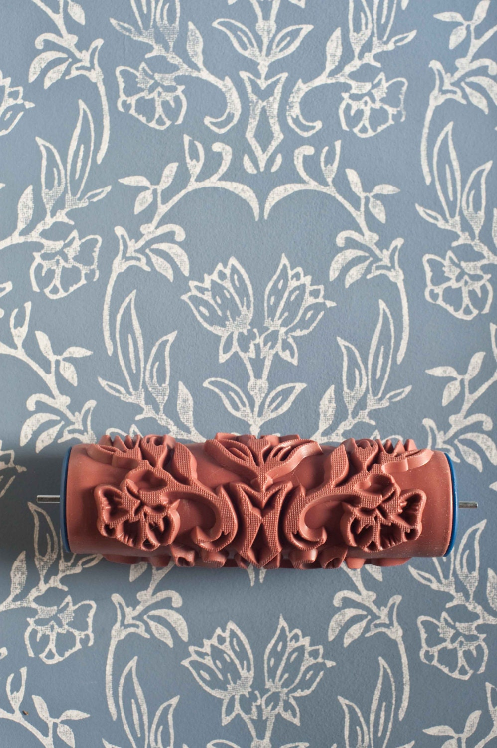 Details. These patterned paint rollers ...