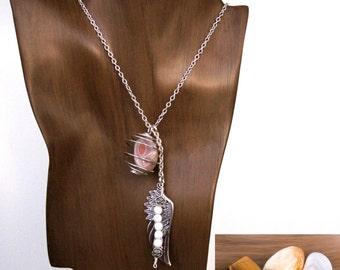 GEMINI 3-in-1 Gemstone Necklace Set w/ Botswana Agate, Citrine, Tiger Eye - Choose Length | Zodiac Astrology, May June Birthday Gift Gifts