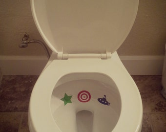 Toilet Targets, Potty training aid