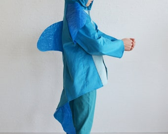 Dolphin, kids costume fish, whale, blue whale, shark, halloween