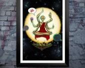 Alien Bodhisattva Print