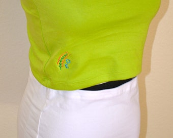 Rainbow Colors Layering Undershirt, TOP or Bottom, Hip T, Stretchy, One Size Solid Stretchy Colors, Versatile Accessory