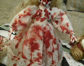 Haunted Dead Horror Porcelain Halloween Dolls
