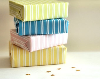 Polka Dot, Striped and Fun Fair Gift Wrap - DIY Printable PDF Instant Download