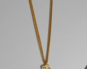 Vintage Chandelier Necklace Pendant 1960s