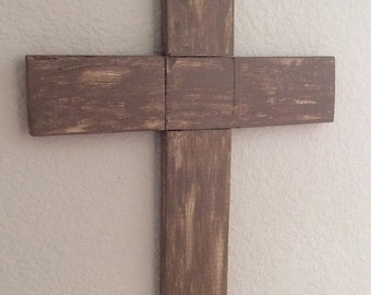 Wooden Cross - Pallet Cross - Cross