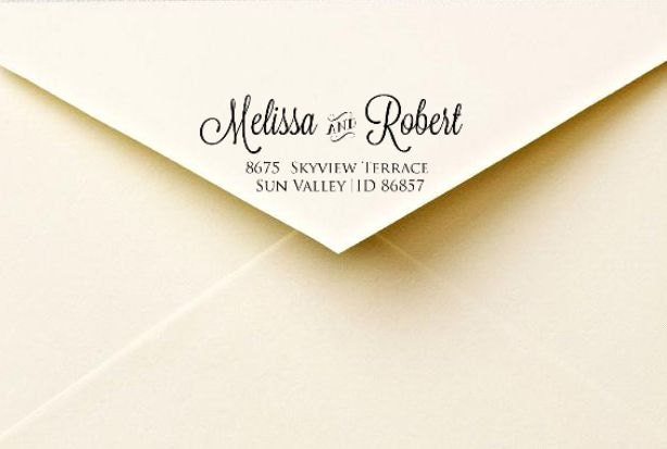 Calligraphy Return Address Labels Printable By