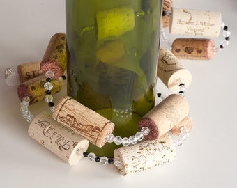 Wine Cork Garland Wine Decor Wine Cork Crafts Wedding Decoration Wine Themed