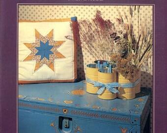 Homespun Crafts from Scraps hardback book by Gwen Evrard