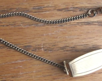Vintage 1/20 12K Gold Watch Chain Fob 1920 Era