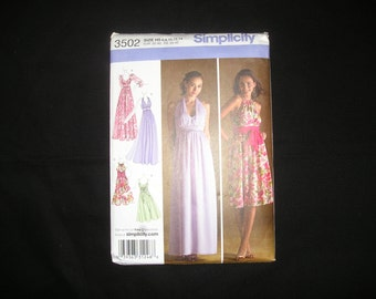 Simplicity 3502 Dress Pattern