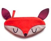 Zip Pouch - Doe-A-Deer Pochette (Orange)