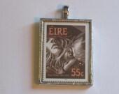 Postage Stamp Pendant - Dracula