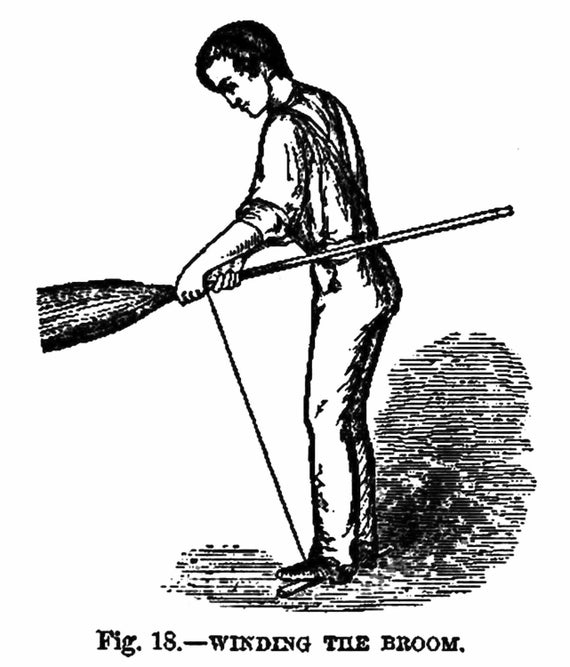 corn broom how to make