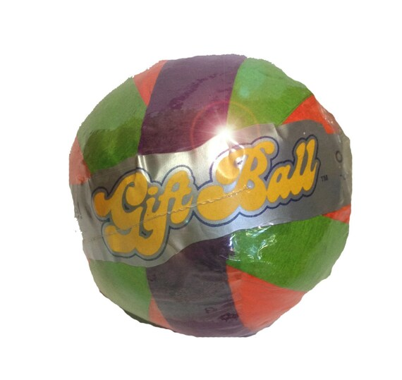 90s Toy Ball : S toy surprise ball vintage crepe tissue gift