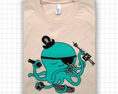 Pirate Octopus ADULT T-shirt