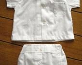 Vintage 1960s Baby Diaper Pants Waterproof Newborn Preemie 2013557