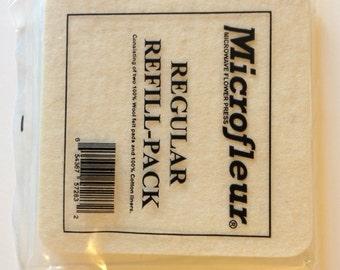 "Microfleur Refill Pack for the 5"" Microfleur Regular"