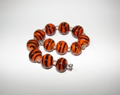 RESERVED for Dezetta Designs handmade lampwork beads