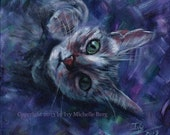 "Custom Animal (Pet) Portrait: Original Acrylic Painting, 8"" x 10"" or 9"" x 12"""