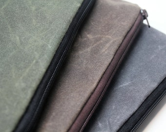 """Waxed Canvas - The New 13"""" or 15"""" Macbook Pro, 13"""" or 15"""" MacBook Pro/13"""" or 15"""" Macbook Pro Retina Display Laptop Sleeve Case Cover-Padded"""