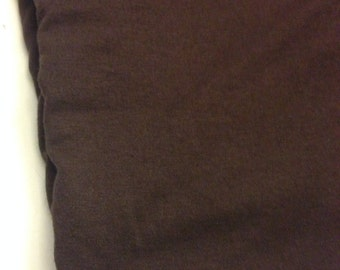 Rayon Jersey Knit  Fabric in Brown