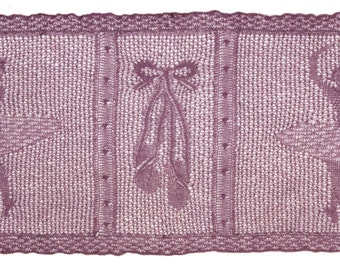 At The Ballet -  Lace knitting Pattern