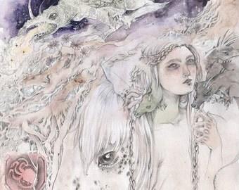 House Targaryen - Faerie / Magical / Fantasy Art Print