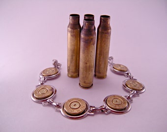 Annie Get Your Gun Recycled Spent Bullet Shell Bracelet