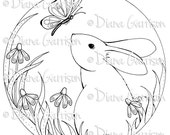 Bunny Digi Digital Stamp