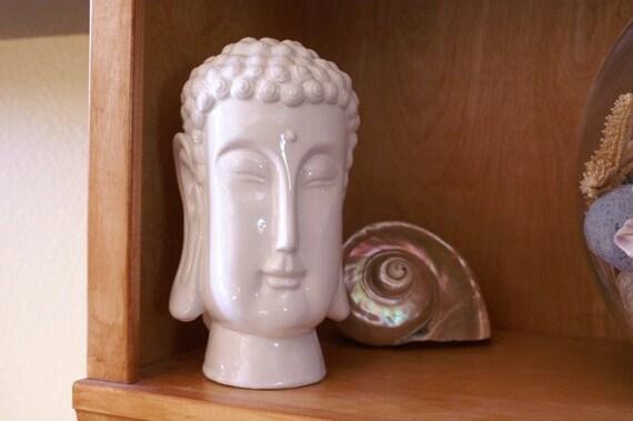 Buddha Head Ceramic Home Decor