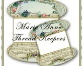Marie Anne  /Lace or thread Keepers graphics instant Download