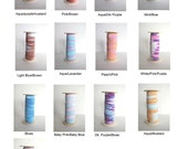 Tie Dye FOE fold over elastic by the yard   ll   50 yards choose 5 colors