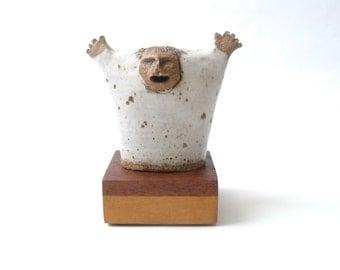 Frank Matranga Ceramic Politician Sculpture