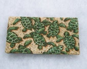 Checkbook Cover - Turtles