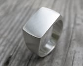 SIGNET sterling silver ring Made to Order size