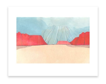 Desert Window // Limited Edition Archival Giclee Print