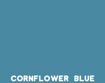 cornflower blue Ink pad for your rubber stamp waterproof & permanent Wendy Vecchi Designer Series