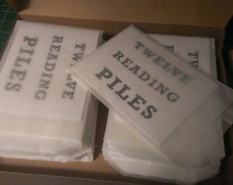 Syndicate Product 23 - TWELVE READING PILES