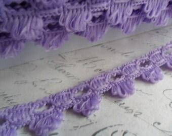 Sweet Scalloped Lovely Lavender Braid Trim