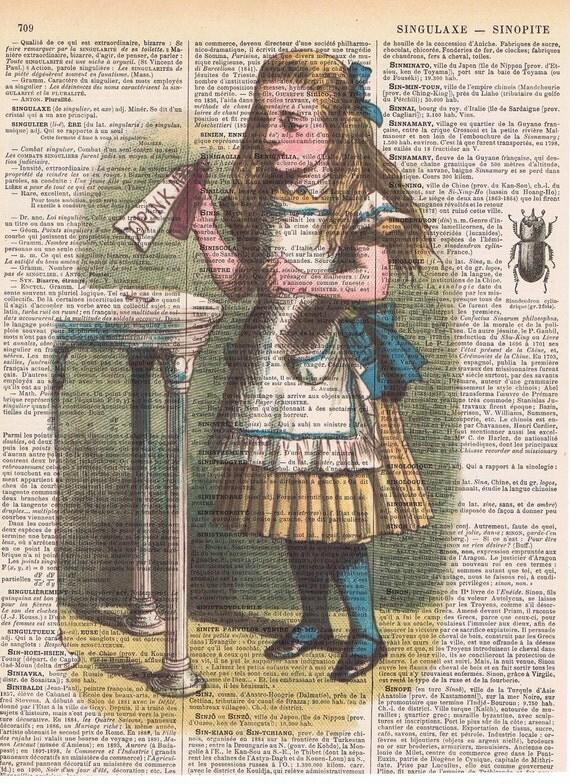 Alice in wonderland movie cake-5487