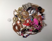 VIntage Jewelry Destash Lot-Perfect for repurposing vintage jewelry